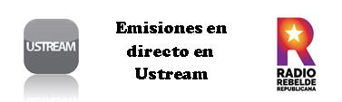 Emisiones en Ustream
