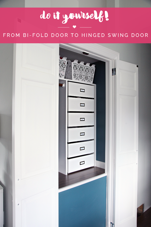 Up Until Recently, We Had Been Living Without Any Closet Doors At All, You  Can Catch Up On Our Last Coat Closet Update Here.