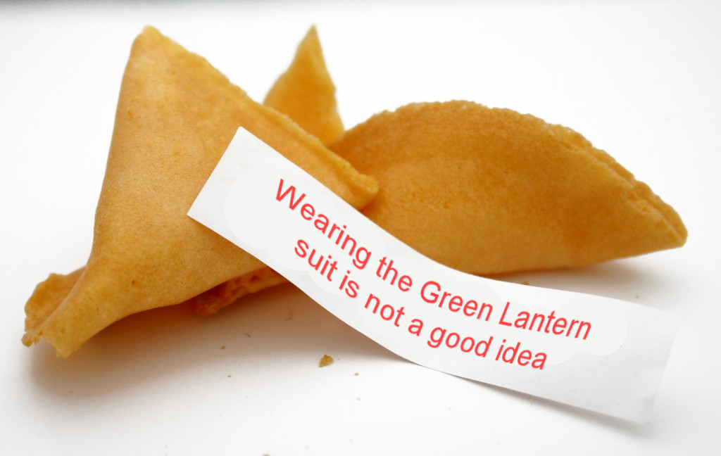 Fortune Cookie - Green Lantern