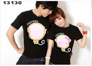 kaos-couple-monkey