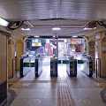 JR原宿駅改札〈著作権フリー無料画像〉Free Stock Photos