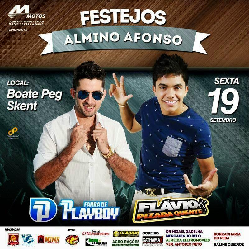 Festejos Almino Afonso RN 2014