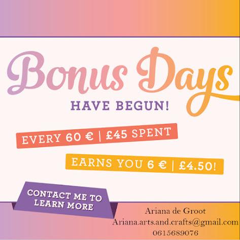 Bonus Days Augustus