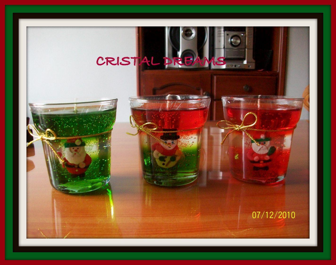 Cristal dreams diciembre 2012 for Velas navidenas