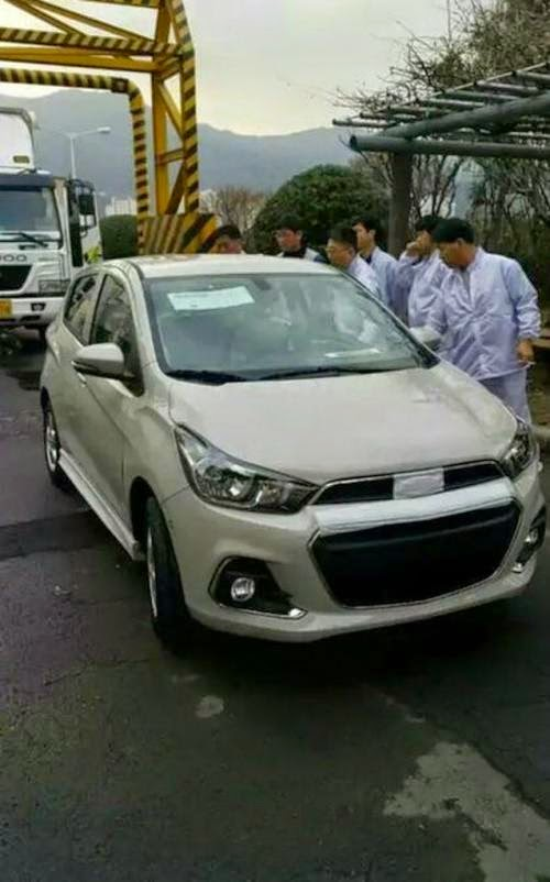2017 Chevrolet Spark Spy Photo