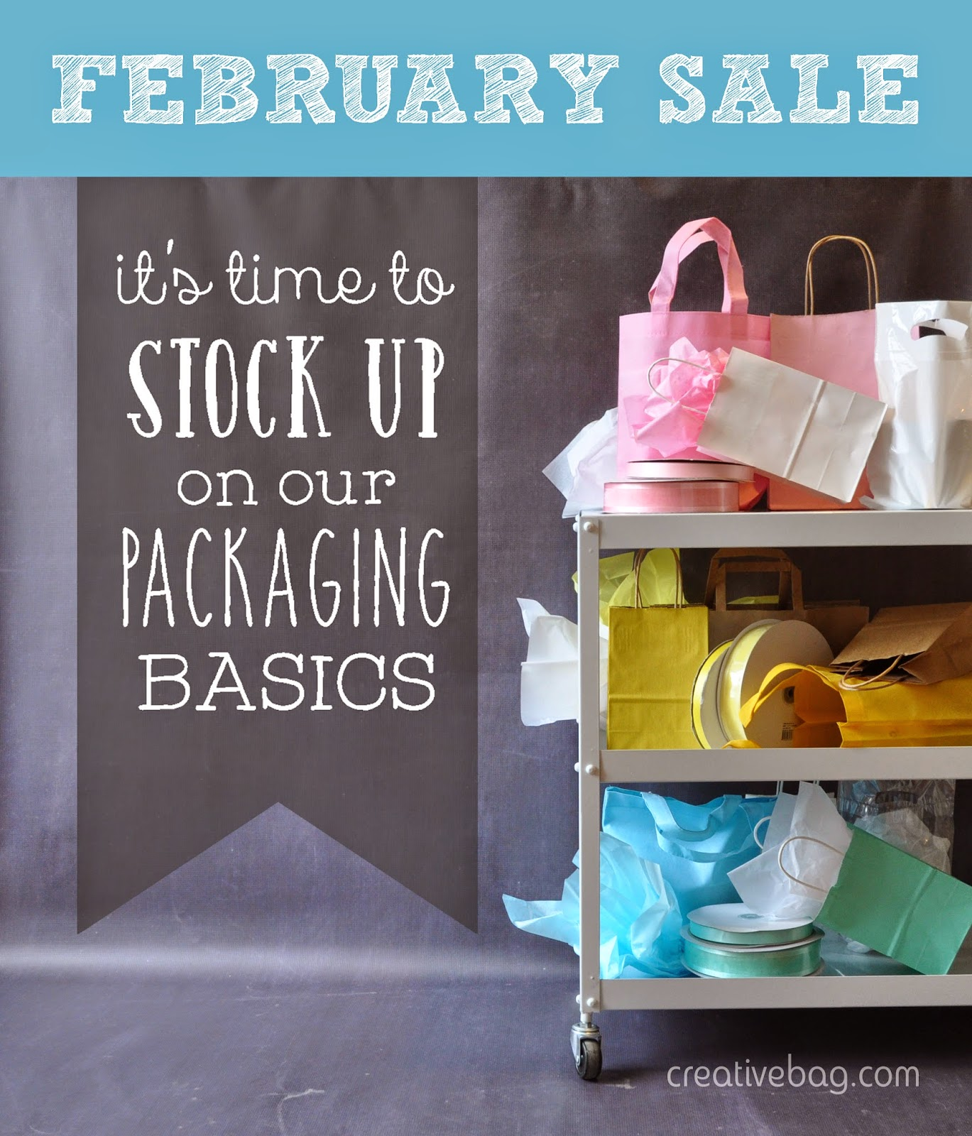 February sale at Creative Bag