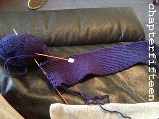 work in progress knitting