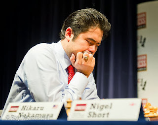 Echecs : l'Américain Hikaru Nakamura au Chess Sixteen de Londres © Ray Morris-Hill