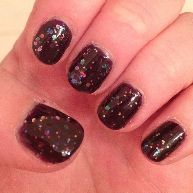 My 2014 in nails, #ManiMonday, Mani Monday, manicure, nails, nail polish, nail lacquer, nail varnish, Deborah Lippmann Let's Go Crazy