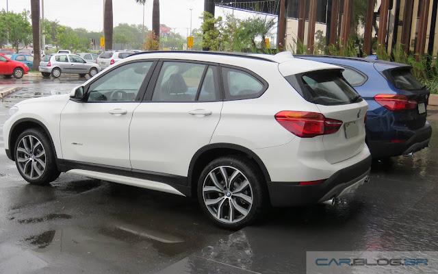 Novo BMW X1 2016 xDrive25i