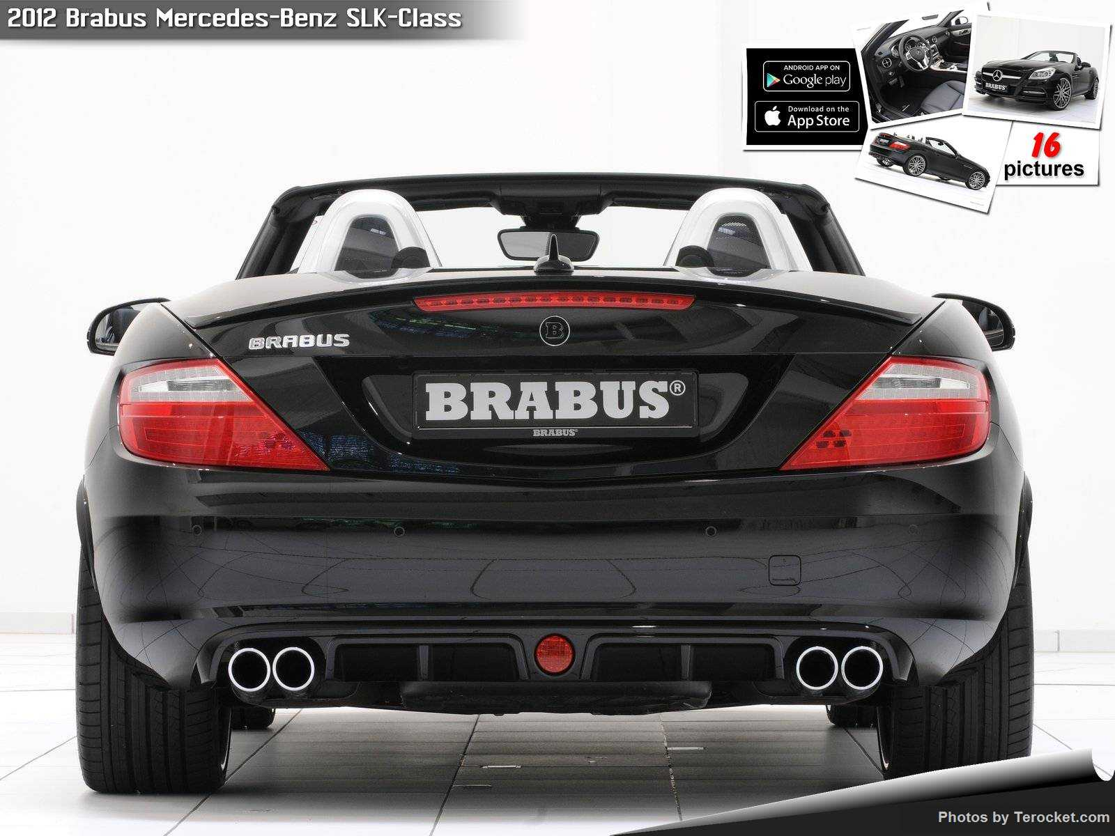 Hình ảnh xe ô tô Brabus Mercedes-Benz SLK-Class 2012 & nội ngoại thất