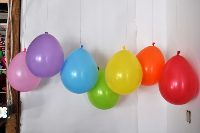 Rainbow Party {decorations}