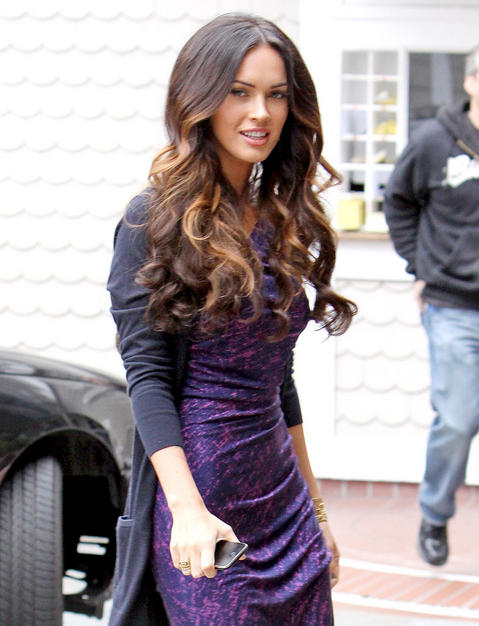 megan fox hair updos. hair colors and styles