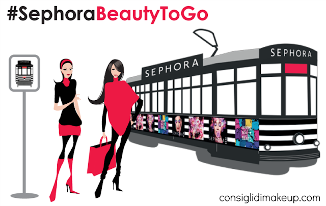 #SephoraBeautyToGo: il tram della bellezza per le vie milanesi con Sephora