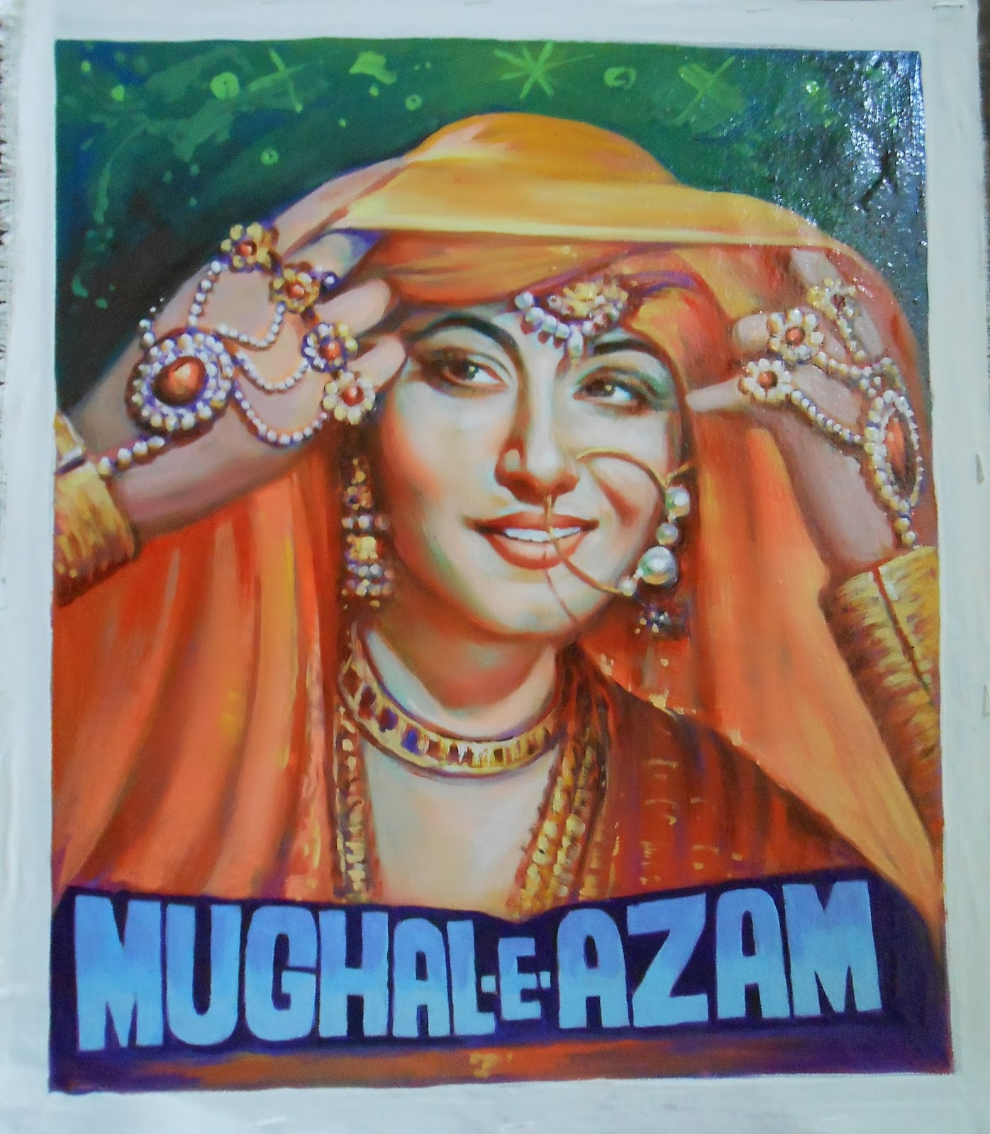 bollywoodpostersstudio hand painted old movie posters