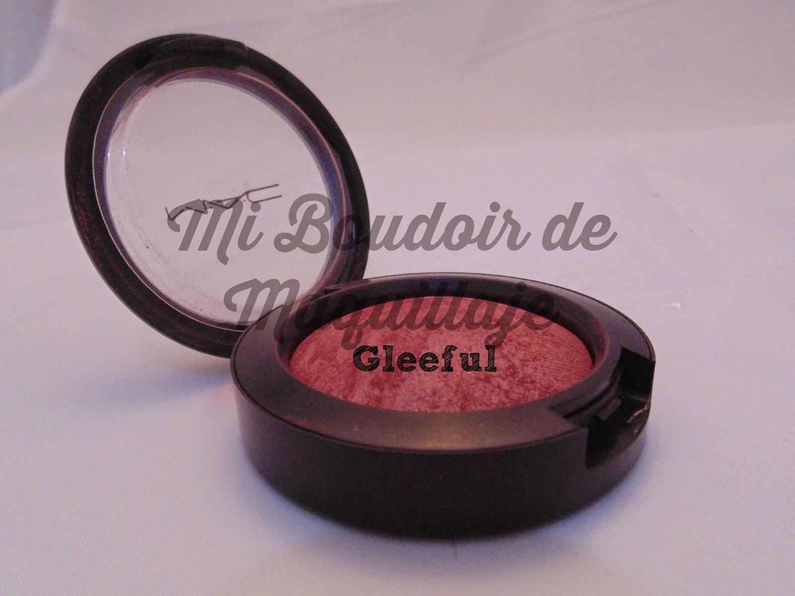 Gleeful mac blush colorete
