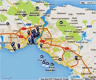 Places to Stay in Istanbul, Turkey
