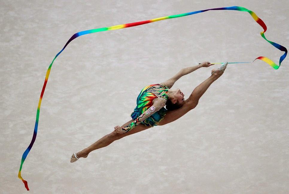 Campeonato de gimnasia ritmica BAKU 2014