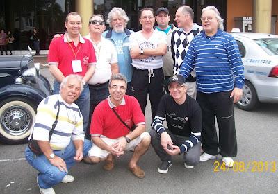 Alguns dos fundadores do Clube MP Lafer Brasil depois de 16 anos.