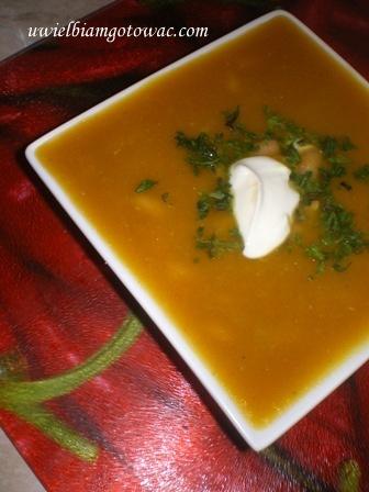 Marokańska zupa dyniowa