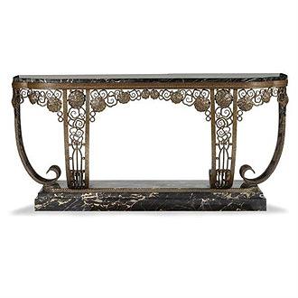 edgar brandt and art deco metalwork themodernsybarite. Black Bedroom Furniture Sets. Home Design Ideas