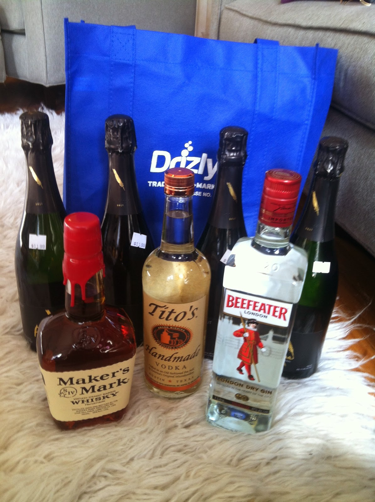 Drizly Liquor Order