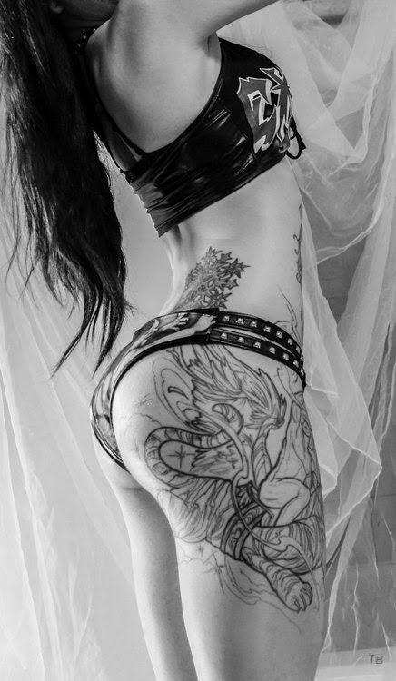 Les Tatouages Du Samedi En Noir Et Blanc Chazster
