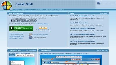 Classic Shell, OS / Shell Enhancement