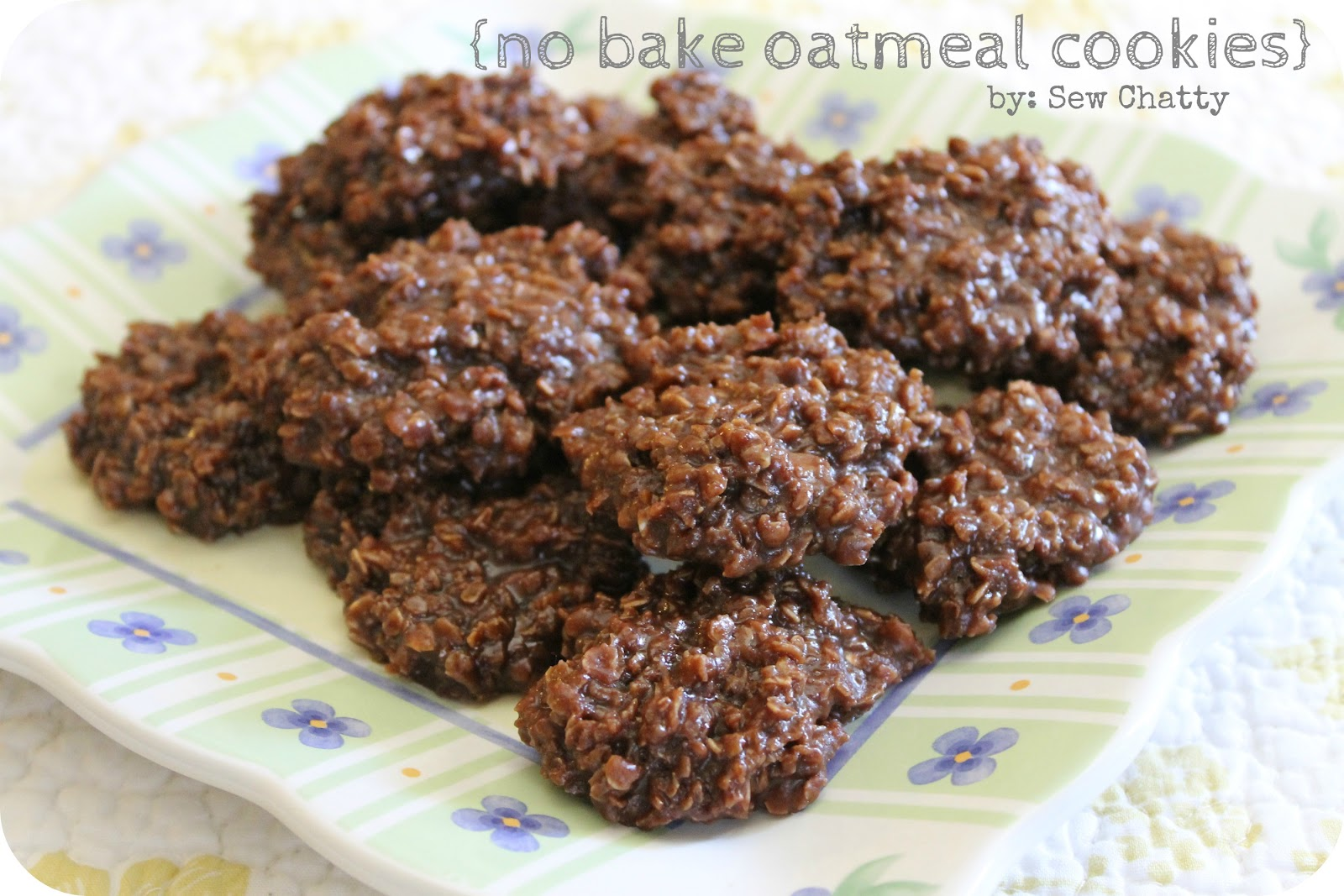 Recipe For No Cook Chocolate Oatmeal Cookies