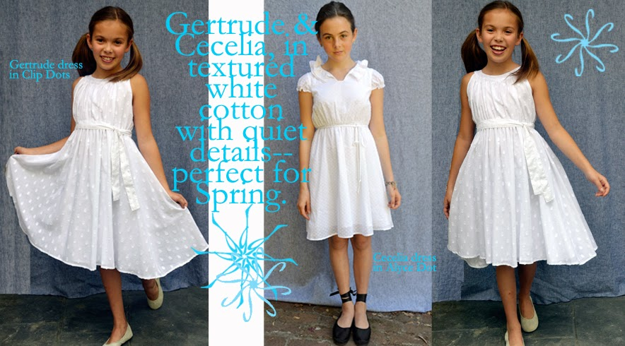 Gertrude dress, Cecelia dress, Spring 2015, shop small, easter dress, firs communion dress,  5th grade graduation, dress like a girl, SFMade, featured in Martha Stewart Wedding, flower girl dress, junior bridesmaid