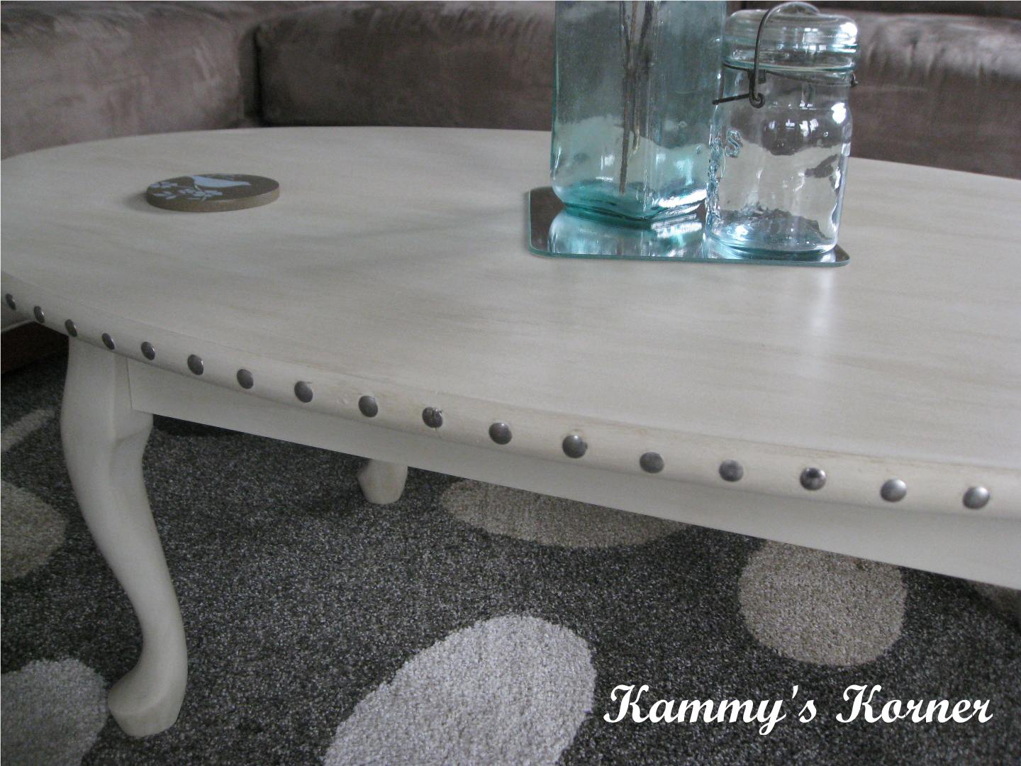 Coffee Table Painting Kammys Korner Making A Laminate Coffee Table Beautiful With