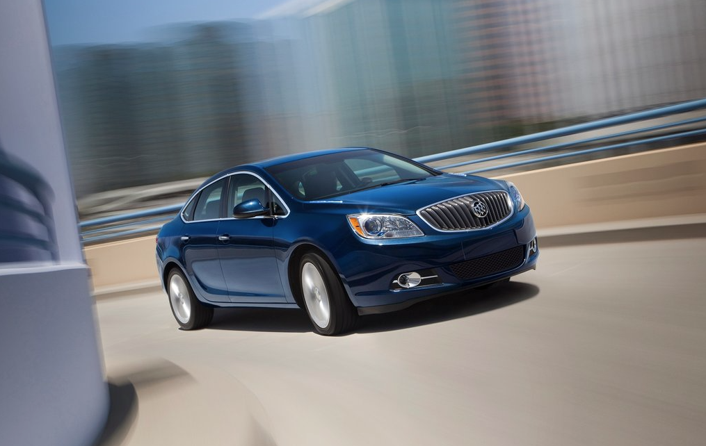 2013 Buick Verano Turbo blue