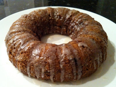 Southern Spoon Blog: Date Spice Cake with Bourbon Glaze