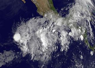 Tropischer Sturm ALETTA vor Mexiko ist schon am Ende, Aletta, aktuell, Mexiko, Nordost-Pazifik, Pazifik, Pazifische Hurrikansaison, Mai, 2012, Hurrikansaison 2012, Satellitenbild Satellitenbilder, Vorhersage Forecast Prognose,