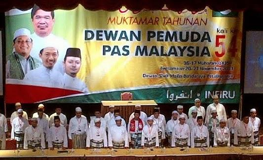 MUKTAMAR DEWAN PEMUDA PAS MALAYSIA KE-54