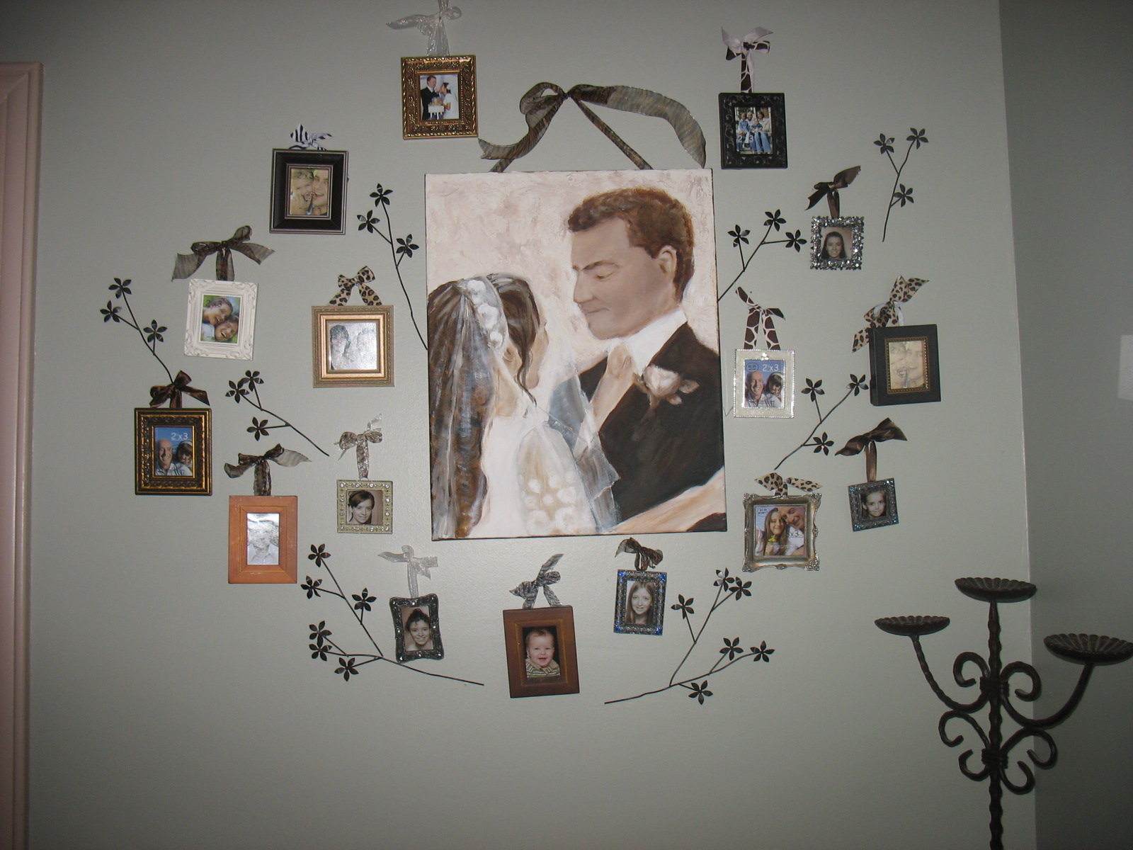 talk about our family tree here it is made with a painting i did