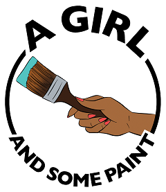 A Girl and Some Paint