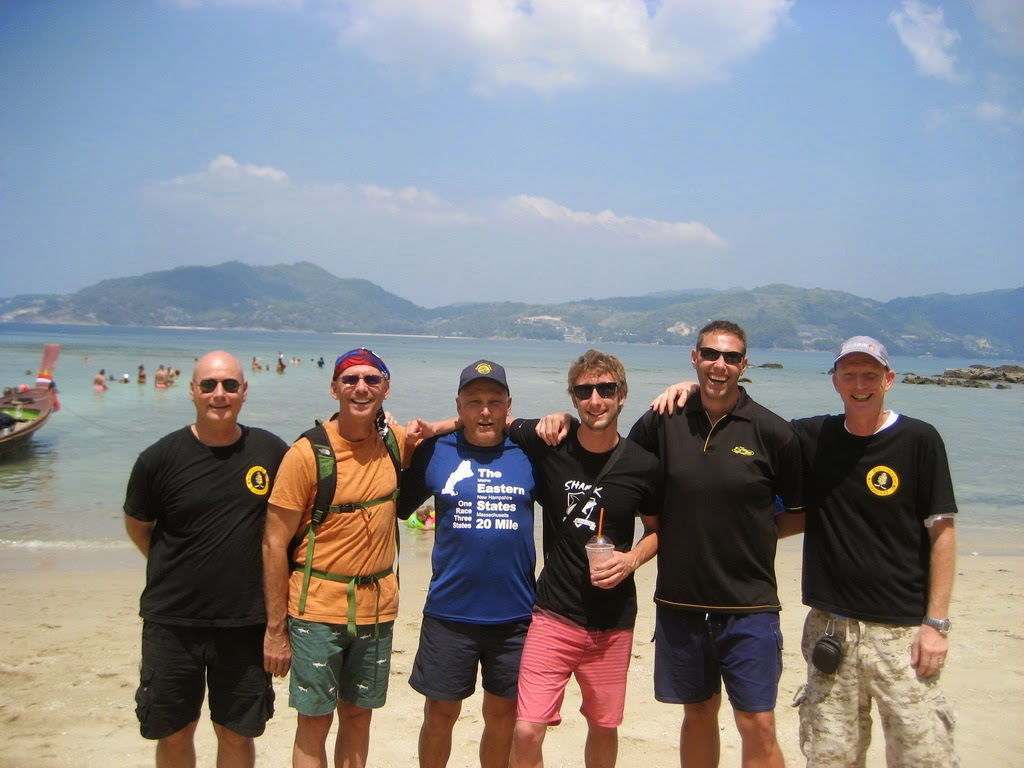 PADI IE on Phuket for February 2015 was very successful