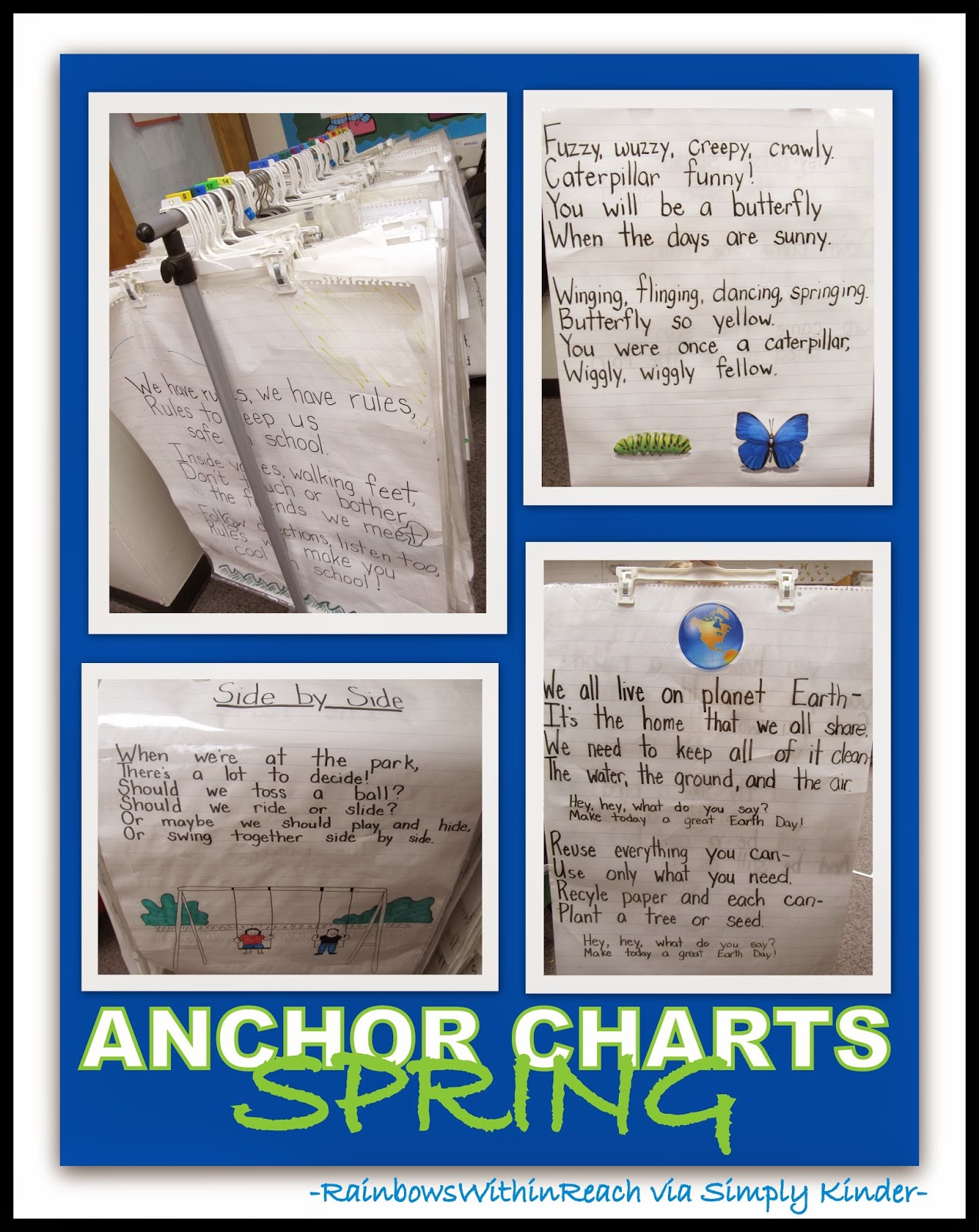 Anchor Charts for Spring from RainbowsWithinReach via SimplyKinder