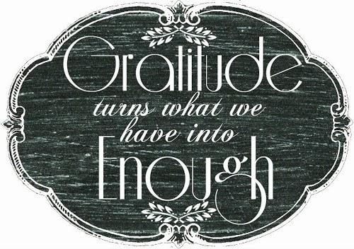 Gratitude Printable