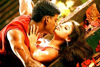 Vishal and Nayan Thara in Satyam