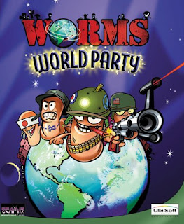 Download Mini Game Worms World Party