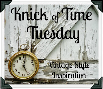 KNICK OF TIME TUESDAY VINTAGE INSPIRATION