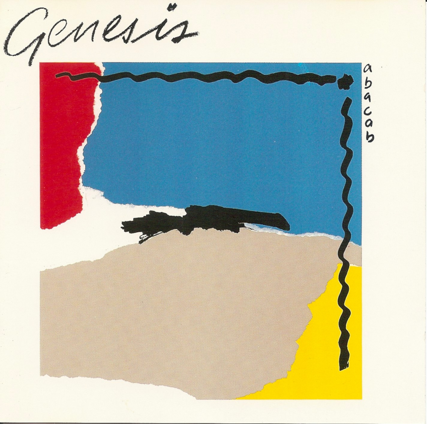 The First Pressing Cd Collection Genesis Abacab
