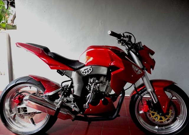 Modifikasi-Honda-tiger-revo-street-fighter