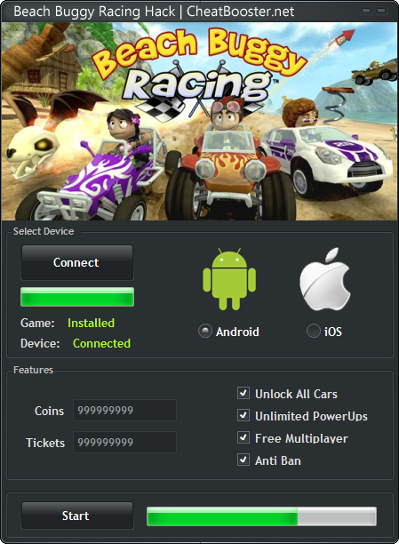 Beach buggy racing hack tool android tips cheat download