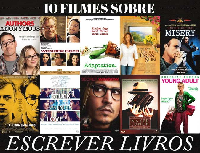 Discípulos de Peter Pan - DDPP - 10 filmes sobre escrever livros