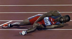 an injured track athlete used in Carlie M.A. Cullen's guest post on J.R. Wagner's Author blog. Post called The importance of Writing Exercises
