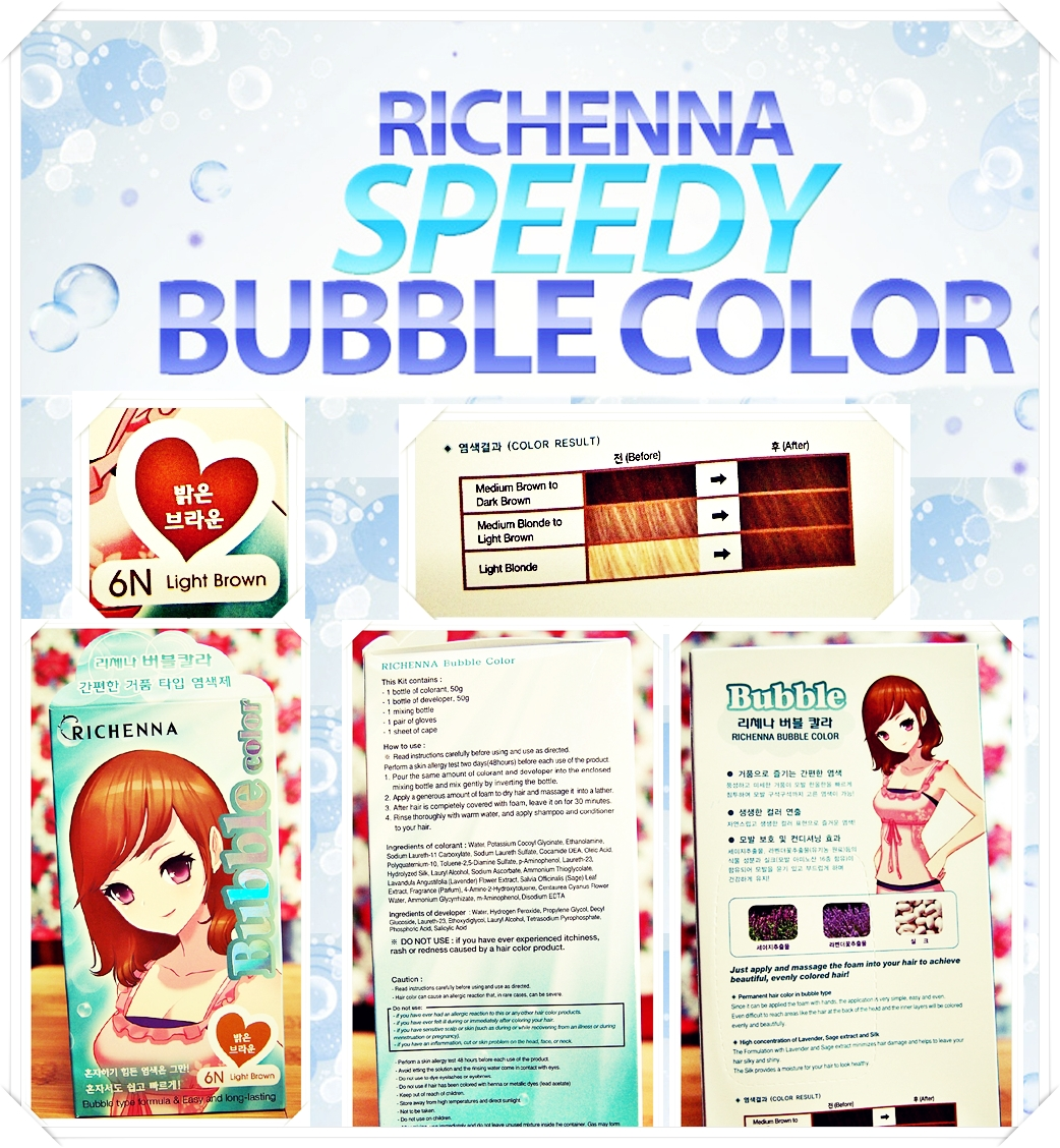 journey on beauty review on richenna bubble color