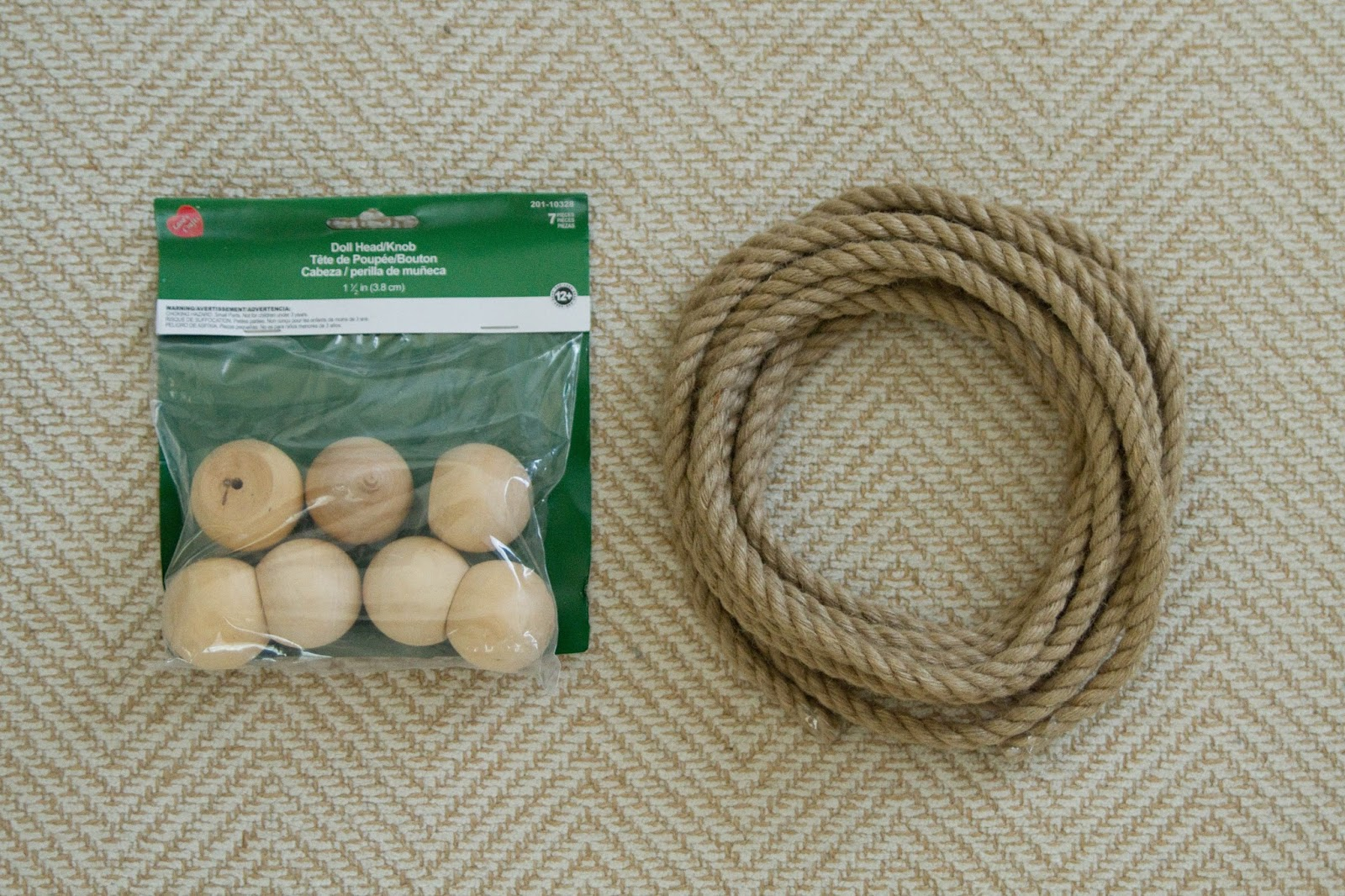 Wood finials for crafts - For Each Finial We Created A Monkey Fist Knot Out Of The Rope Slipping A Wooden Ball Into The Middle As We Were Making The Knot